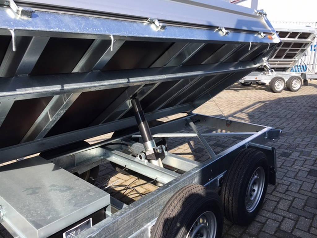 Saris kipper 306x170cm 2700kg kippers Aanhangwagens Zuid-Holland nw zij cilinder