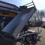 Saris kipper 306x170cm 2700kg kippers Aanhangwagens Zuid-Holland nw zijkant