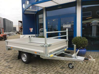 Saris plateau 270x150cm 1350kg plateauwagens Aanhangwagens Zuid-Holland hoofd 2.0