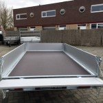 Saris plateau 270x150cm 1350kg plateauwagens Aanhangwagens Zuid-Holland nw open