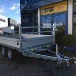 Saris plateau 330x170cm 2700kg plateauwagens Aanhangwagens Zuid-Holland nw overzicht