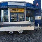 Saris plateau 330x170cm 2700kg plateauwagens Aanhangwagens Zuid-Holland nw zijkant open