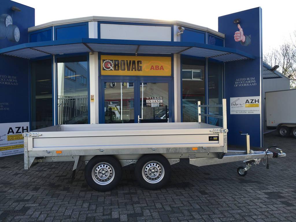 Saris plateau 330x170cm 2700kg plateauwagens Aanhangwagens Zuid-Holland nw zijkant