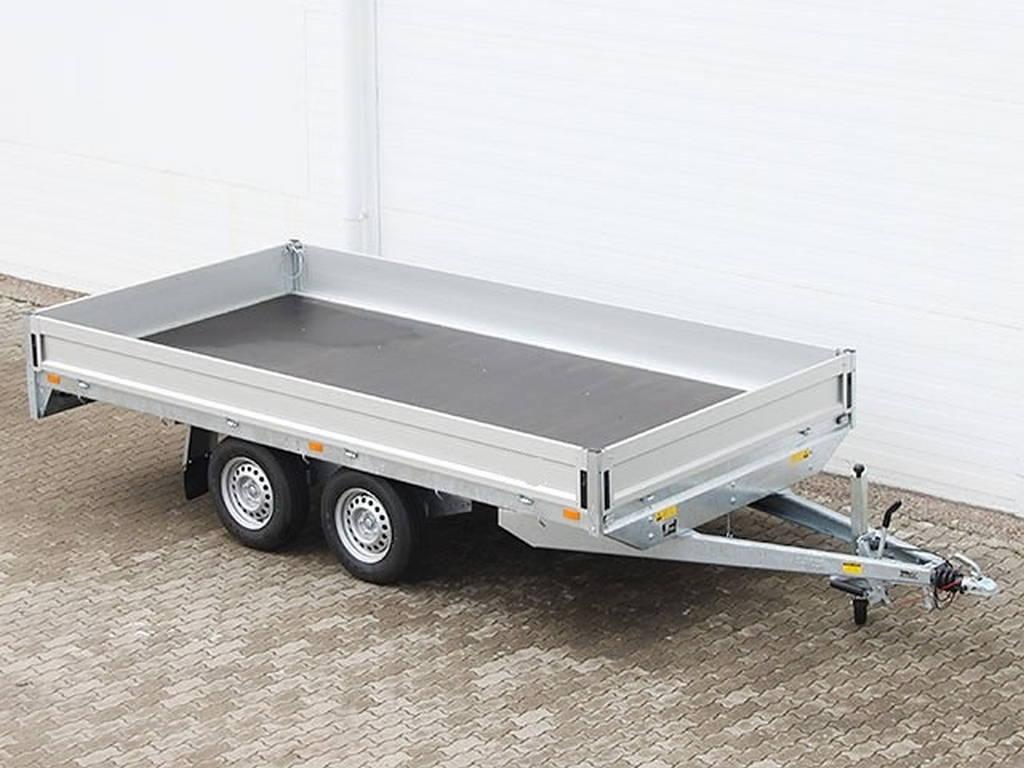 Saris plateau 406x204cm 2700kg plateauwagens Aanhangwagens Zuid-Holland hoofd