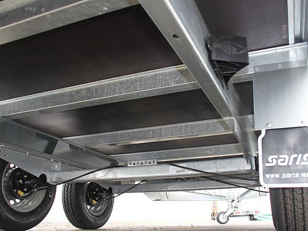 Saris plateau 406x204cm 2700kg plateauwagens Aanhangwagens Zuid-Holland onderstel