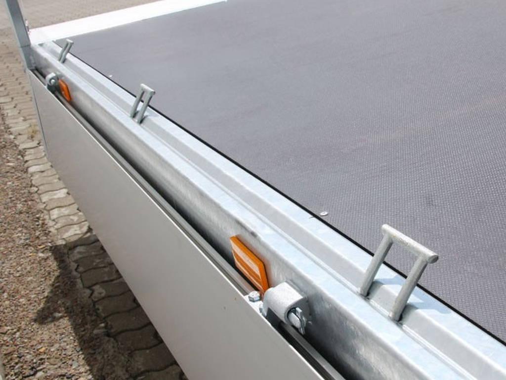 Saris plateau 406x204cm 2700kg plateauwagens Aanhangwagens Zuid-Holland vastzetmogelijkheden