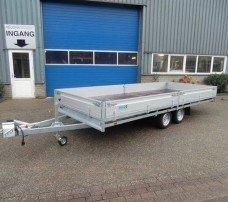 Hulco plateau 611x203cm 3000kg plateauwagens Aanhangwagens Zuid-Holland hoofd