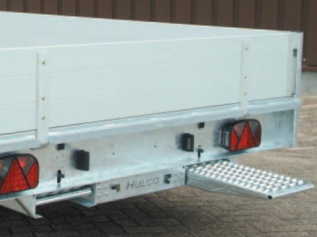 Hulco plateau 611x203cm 3000kg plateauwagens Aanhangwagens Zuid-Holland rijplaten