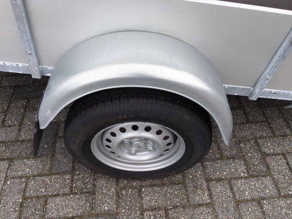 Loady enkelas Alu 257x132cm bakwagens enkelas Aanhangwagens Zuid Holland enkelas