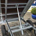 Loady kipper 307x157cm 750kg 2-as kippers Aanhangwagens Zuid-Holland 2.0 cilinder