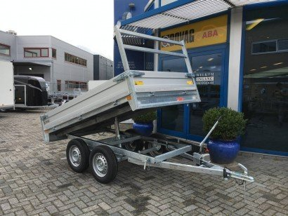 Loady kipper 307x157cm 750kg 2-as kippers Aanhangwagens Zuid-Holland 2.0 hoofd