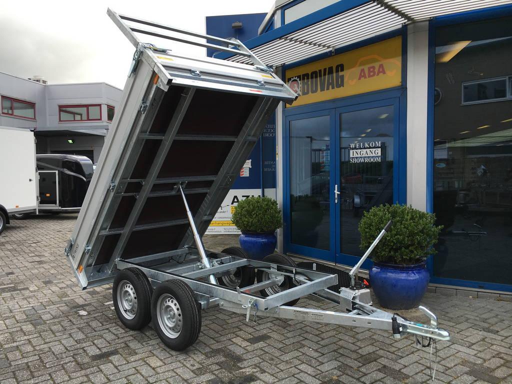 Loady kipper 307x157cm 750kg 2-as kippers Aanhangwagens Zuid-Holland 2.0 overzicht