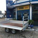 Loady kipper 307x157cm 750kg 2-as kippers Aanhangwagens Zuid-Holland 2.0 vlak
