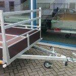 Loady tandemas 307x156cm bakwagens tandemas Aanhangwagens Zuid-Holland dissel
