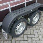 Loady tandemas 307x156cm bakwagens tandemas Aanhangwagens Zuid-Holland dubbele as