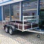 Loady tandemas 307x156cm bakwagens tandemas Aanhangwagens Zuid-Holland hoofd