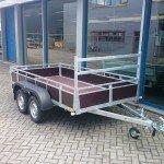 Loady tandemas 307x156cm bakwagens tandemas Aanhangwagens Zuid-Holland overzicht