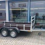 Loady tandemas 307x156cm bakwagens tandemas Aanhangwagens Zuid-Holland zijkant
