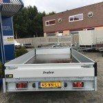 Proline verlaagd 401x202cm 2700kg plateauwagens Aanhangwagens Zuid-Holland 2.0 achterkant