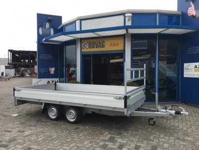 Proline verlaagd 401x202cm 2700kg plateauwagens Aanhangwagens Zuid-Holland 2.0 hoofd