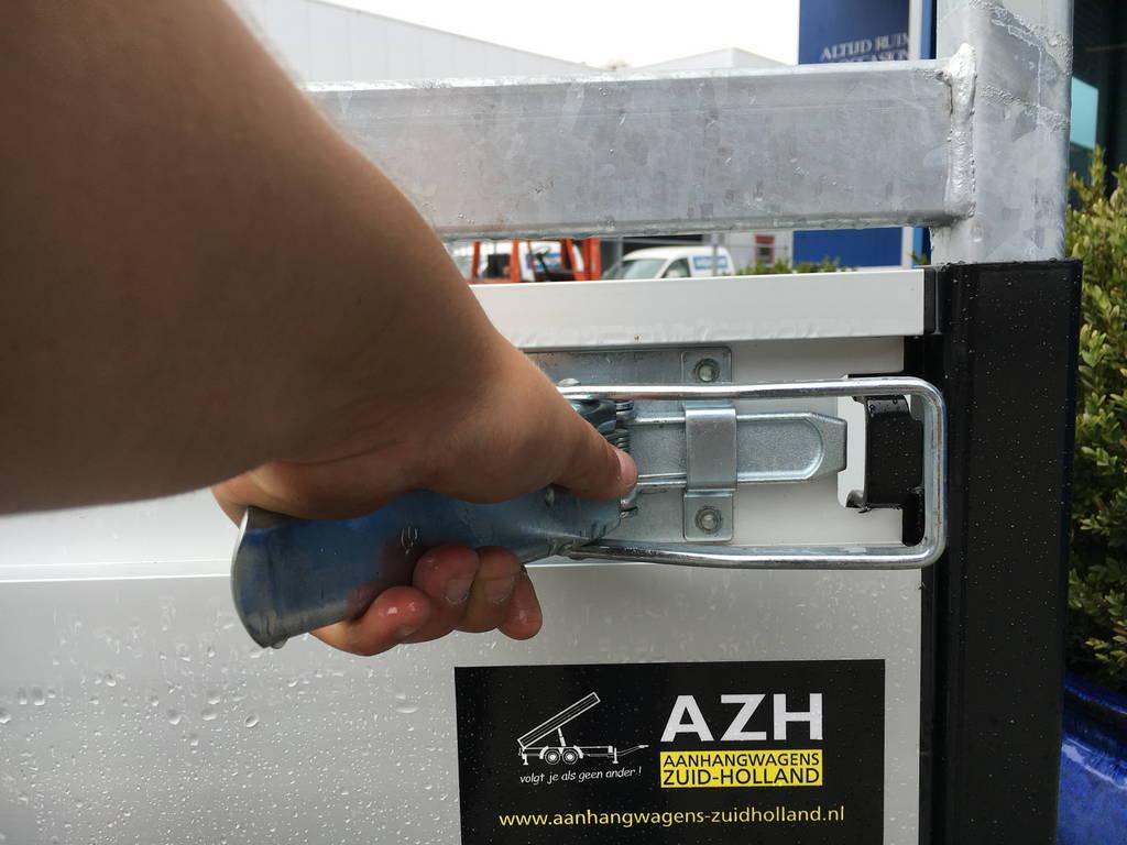 Proline verlaagd 401x202cm 2700kg plateauwagens Aanhangwagens Zuid-Holland 2.0 sluiting