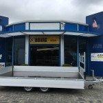 Proline verlaagd 401x202cm 2700kg plateauwagens Aanhangwagens Zuid-Holland 2.0 zijkant vlak
