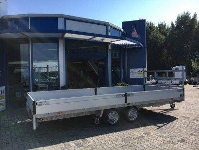 Proline verlaagd 603x202cm 2700kg plateauwagens Aanhangwagens Zuid-Holland hoofd 2.0