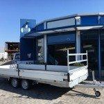 Proline verlaagd 603x202cm 3500kg plateauwagens Aanhangwagens Zuid-Holland overzicht 2.0