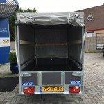 Saris huifaanhanger 256x134x150cm Aanhangwagens Zuid-Holland 2.0 achterkant