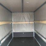 Saris huifaanhanger 256x134x150cm Aanhangwagens Zuid-Holland 2.0 binnenkant