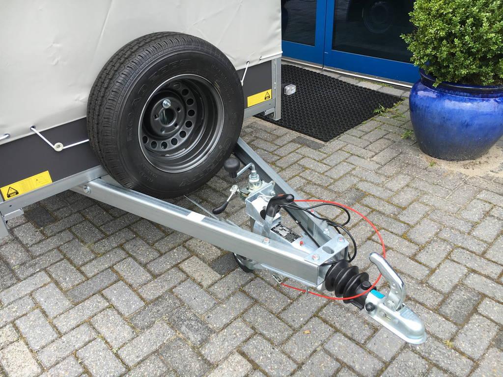 Saris huifaanhanger 256x134x150cm Aanhangwagens Zuid-Holland 2.0 dissel