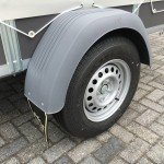 Saris huifaanhanger 256x134x150cm Aanhangwagens Zuid-Holland 2.0 enkelas