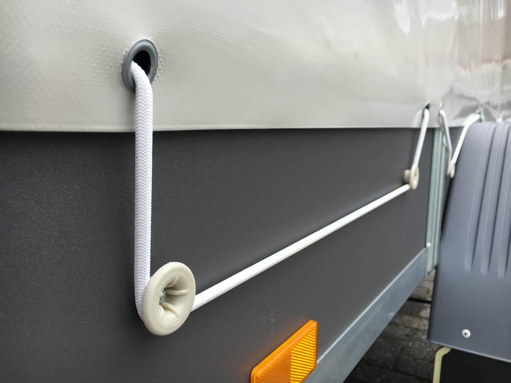 Saris huifaanhanger 256x134x150cm Aanhangwagens Zuid-Holland 2.0 huif systeem