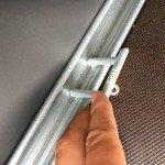 Saris huifaanhanger 256x134x150cm Aanhangwagens Zuid-Holland 2.0 touwhaken