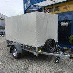 Saris huifaanhanger 256x134x150cm Aanhangwagens Zuid-Holland 2.0 voorkant