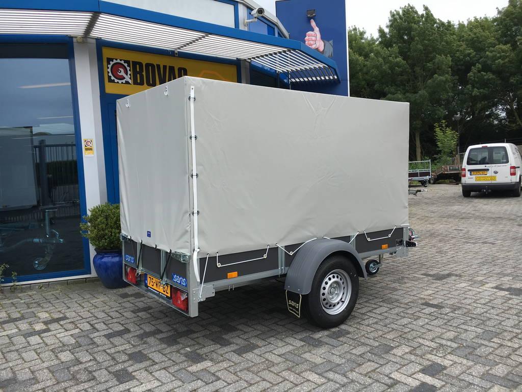 Saris huifaanhanger 256x134x150cm Aanhangwagens Zuid-Holland 2.0 zijkant