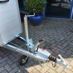 Humbaur Single alu 1,5 paards trailer paardentrailer Aanhangwagens Zuid-Holland 2.0 dissel