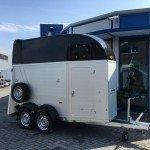 Humbaur Single alu 1,5 paards trailer paardentrailer Aanhangwagens Zuid-Holland 2.0 hoofd