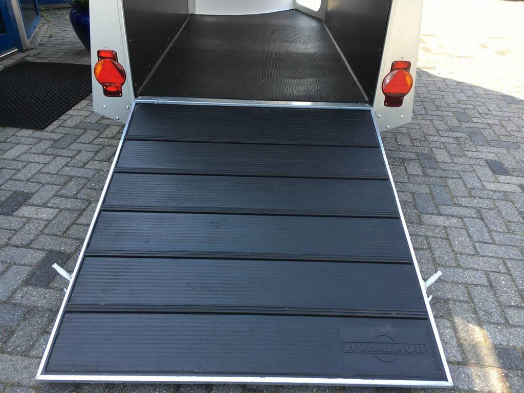 Humbaur Single alu 1,5 paards trailer paardentrailer Aanhangwagens Zuid-Holland 2.0 oploopklep