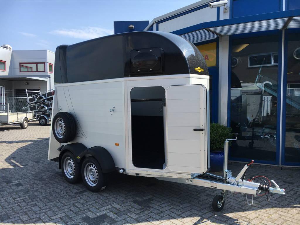 Humbaur Single alu 1,5 paards trailer paardentrailer Aanhangwagens Zuid-Holland 2.0 overzicht