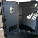 Humbaur Single alu 1,5 paards trailer paardentrailer Aanhangwagens Zuid-Holland 2.0 zadelkamer