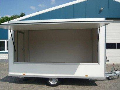 Proline verkoopwagen 397x211x230cm 1500kg Aanhangwagens Zuid-Holland hoofd