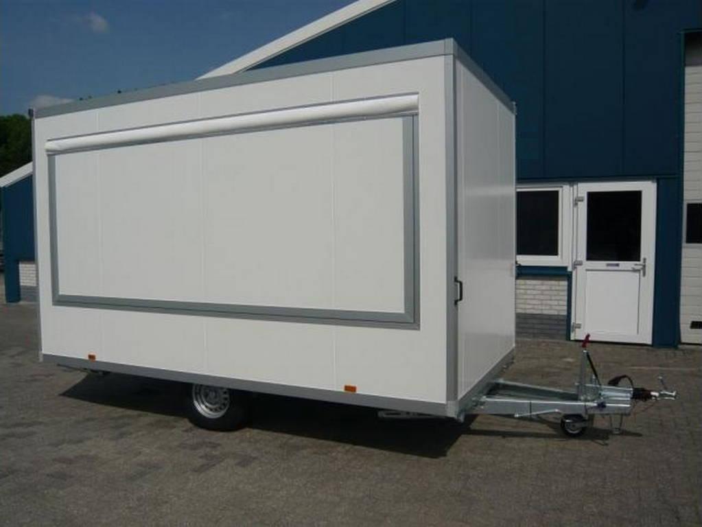 Proline verkoopwagen 397x211x230cm 1500kg Aanhangwagens Zuid-Holland overzicht
