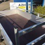 Anssems enkelas 251x126cm bakwagens enkelas Aanhangwagens Zuid-Holland bak
