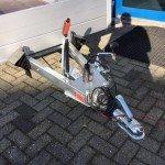 Anssems enkelas 251x126cm bakwagens enkelas Aanhangwagens Zuid-Holland dissel