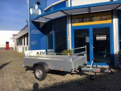 Anssems enkelas 251x126cm bakwagens enkelas Aanhangwagens Zuid-Holland hoofd
