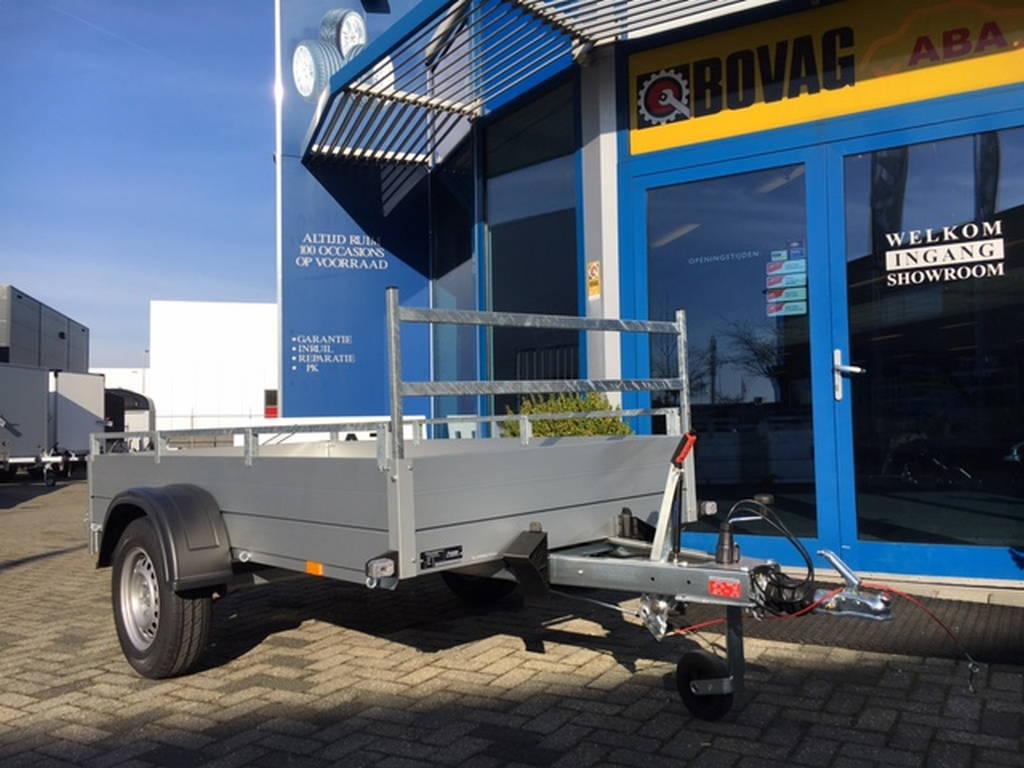 Anssems enkelas 251x126cm bakwagens enkelas Aanhangwagens Zuid-Holland overzicht