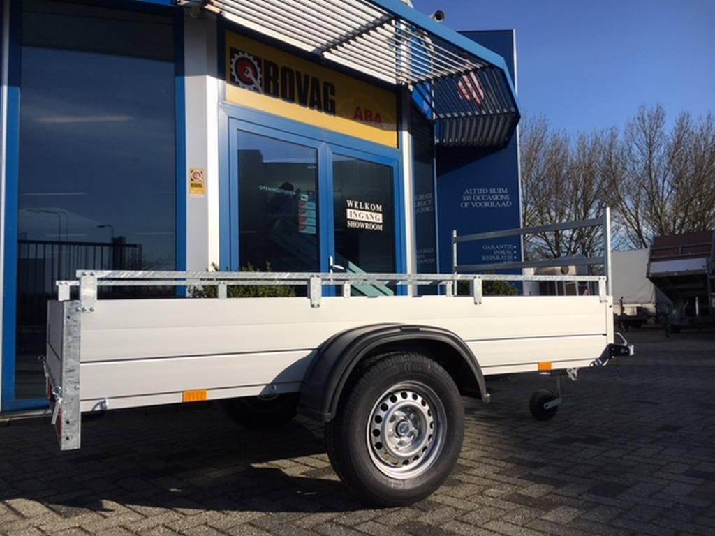 Anssems enkelas 251x126cm bakwagens enkelas Aanhangwagens Zuid-Holland pand