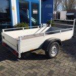 Anssems enkelas 251x126cm bakwagens enkelas Aanhangwagens Zuid-Holland zijkant