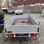 Anssems tandemas 301x126cm bakwagens tandemas Aanhangwagens Zuid-Holland achterkant